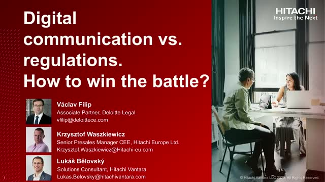 Digital communication vs Regulations. How to win the battle?