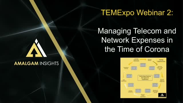 TEM Expo Webinar 2 - Telecom and Network Costs in the Time of Corona