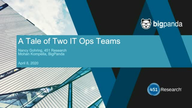 A Tale of Two ITOps Teams