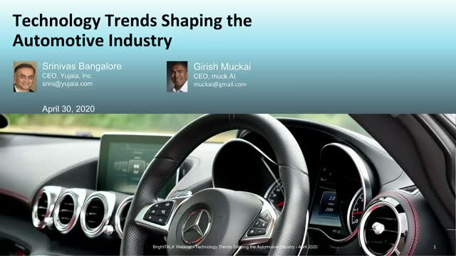 Technology Trends Shaping the Automobile Industry