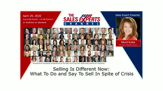 Selling Is Different Now: What To Do and Say To Sell In Spite of Crisis