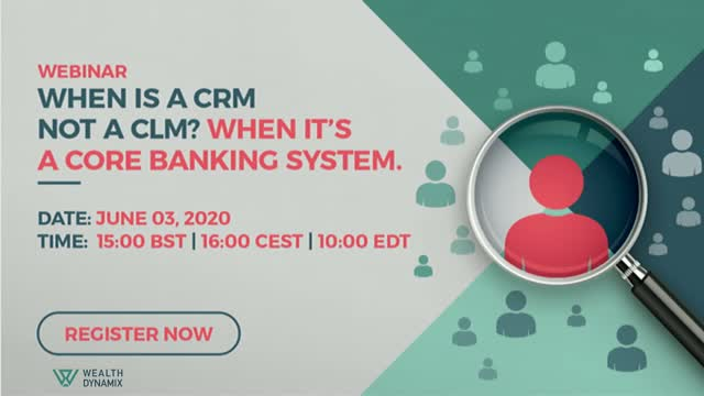 When is a CRM not a CLM? When it's a core banking system.