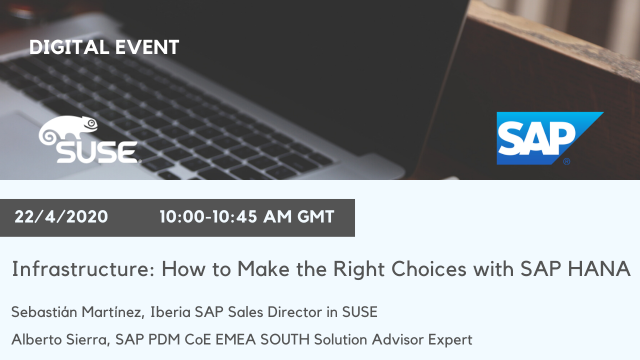 Infrastructure: How to Make the Right Choices with SAP HANA