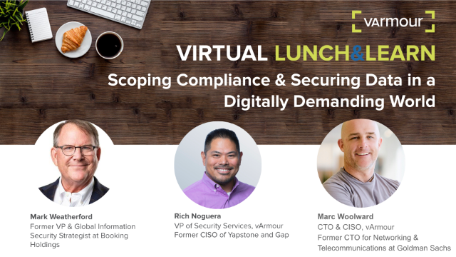 Scoping Compliance & Securing Data in a Digitally Demanding World