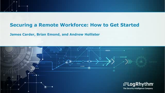How to get started with a secure remote workforce