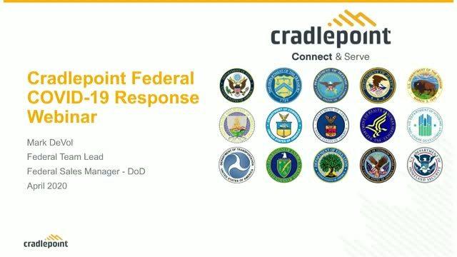 Emergency Networks for Federal Agencies Amid COVID-19