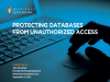 Protecting Databases from Unauthorized Access