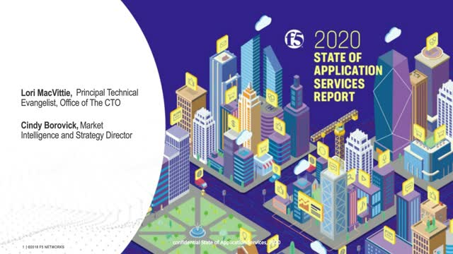 2020 State of Application Report – Trends Shaping the Application Landscape