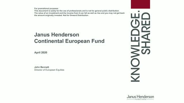 Janus Henderson European Equities update