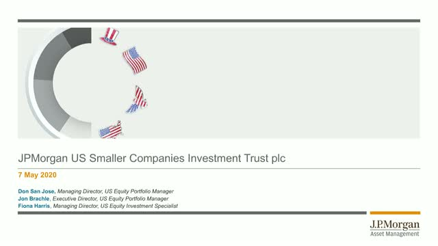 J.P.Morgan US Smaller Companies Investment Trust webconfence