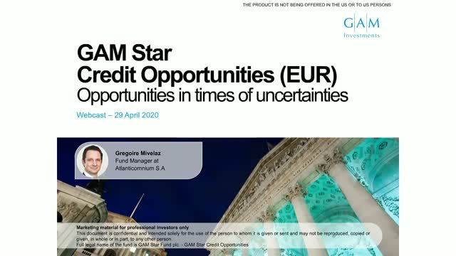 Financials stand strong - GAM Star Credit Opportunities fund update