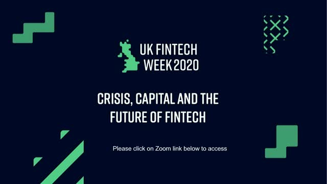 Crisis, Capital and the future of FinTech