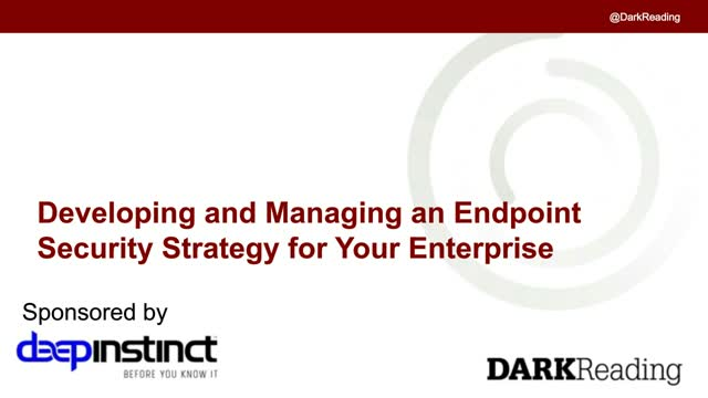 Developing and Managing an Endpoint Security Strategy for Your Enterprise