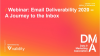 Webinar: Email Deliverability 2020 – A Journey to the Inbox