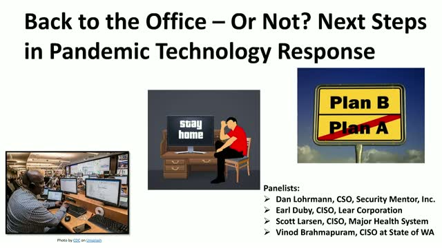 Back to the Office – Or Not? Next Steps in Pandemic Technology Response