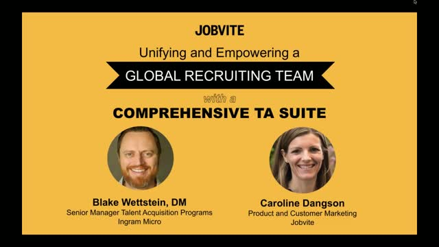 Unifying and Empowering a Global Recruiting Team with a Comprehensive TA Suite