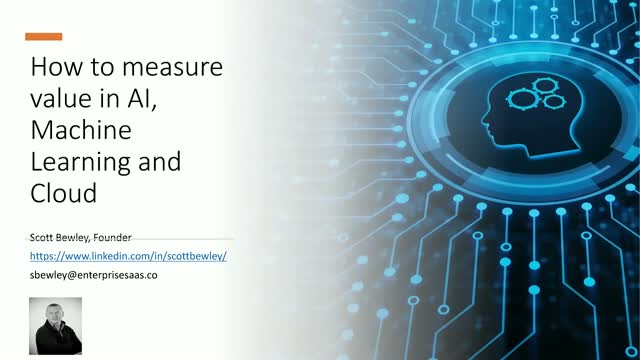 How to measure value in AI, Machine Learning & the cloud for Financial Services