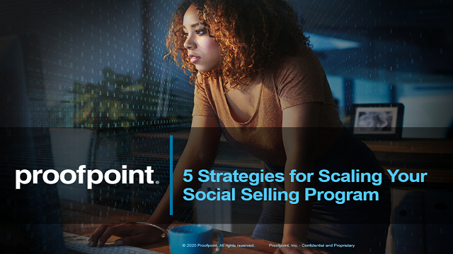 5 Strategies for Scaling Your Social Selling Program