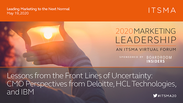 Lessons from the Front Lines of Uncertainty: CMO Perspectives
