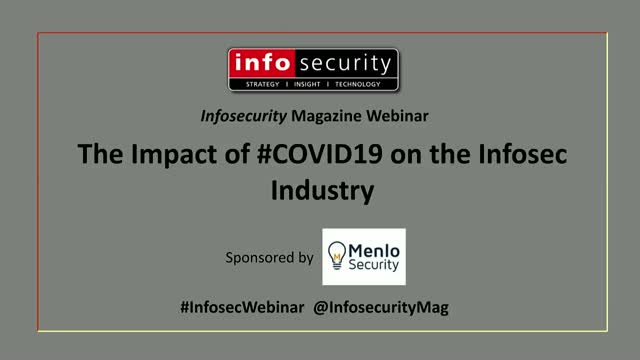 Impact of #Covid19 on the Infosec Industry