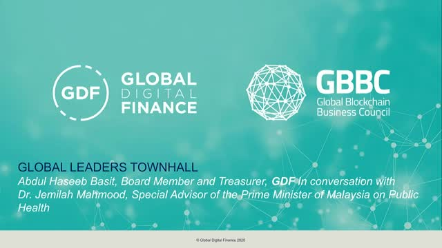 Global Leaders Town Hall with special guest Dr Jemilah Mahmood