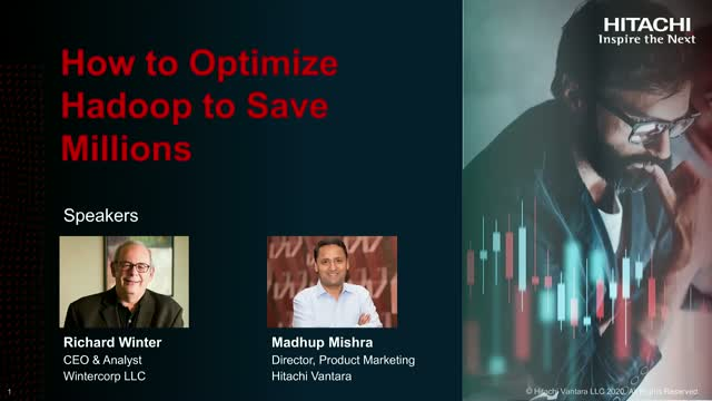 How to Optimize Hadoop to Save Millions