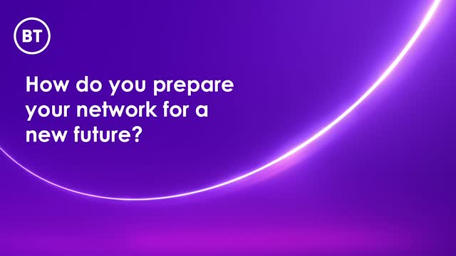 How do you prepare your network for a new future?