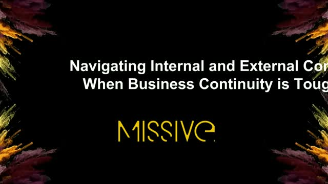 Navigating Internal and External Comms When Business Continuity is Tough