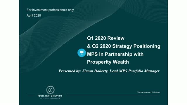 Properity Wealth MPS Update