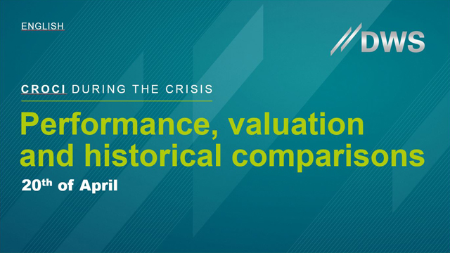 CROCI during the Crisis: Performance, Valuation and Historical Comparisons