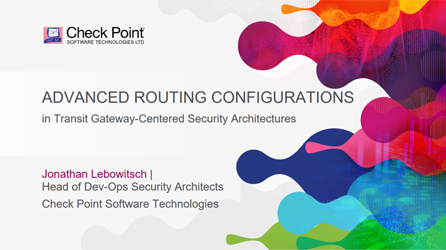 Advanced Routing Configurations in Transit Gateway-centered Architectures