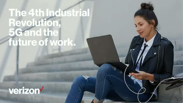 The 4th Industrial Revolution, 5G and the future of work