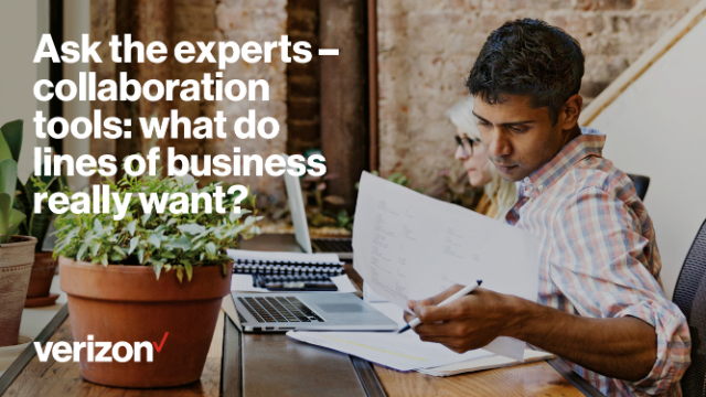 Ask the experts – collaboration tools: what do lines of business really want?