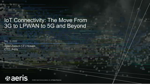 IoT Connectivity: The Move From 3G to LPWAN to 5G and Beyond