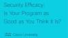 Security Efficacy: Is Your Program as Good as You Think It Is?