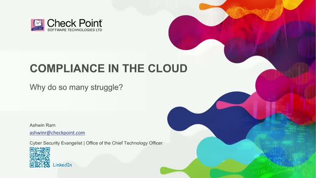 Compliance in the Cloud – Why do so many struggle?