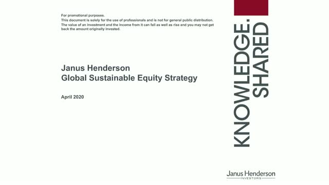 The Global Sustainable Equity Strategy: finding the triple bottom line