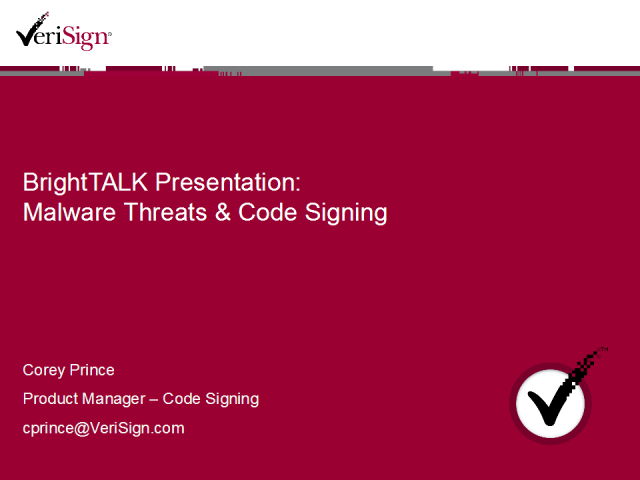 Code Signing and How it Helps Prevent Malware Attacks