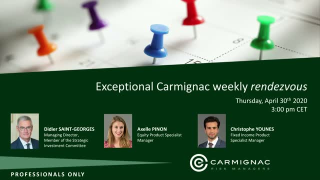 Weekly Carmignac rendezvous #7 (in English)