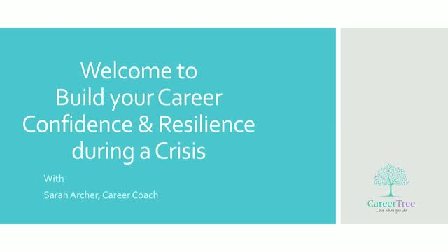 Build Your Career Confidence & Resilience in a Crisis