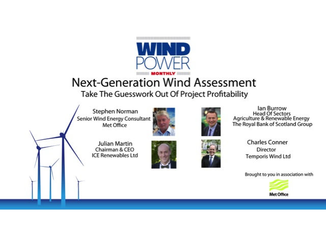 Next-Generation Wind Assessment: Take The Guesswork Out Of Project Profitability