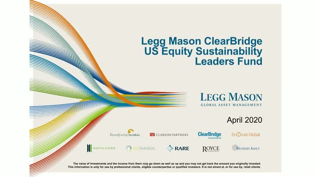 Legg Mason ClearBridge US Equity Sustainability Leaders Fund