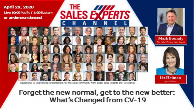 Forget the new normal, get to the new better: What's Changed from CV-19