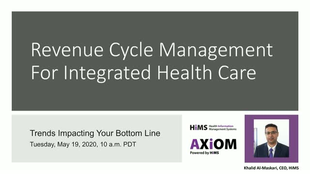 Revenue Cycle Management for Integrated Health Care