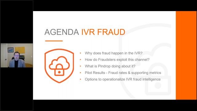 Fraud in the IVR