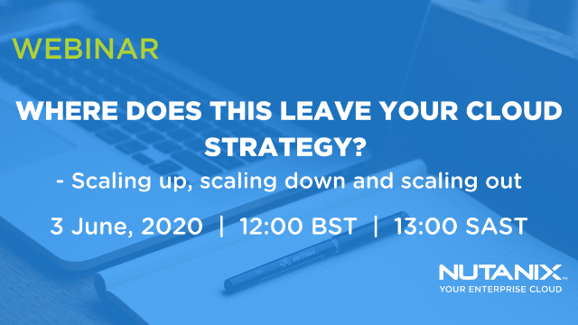 Where does this leave your cloud strategy? Scaling up, scaling down, scaling out