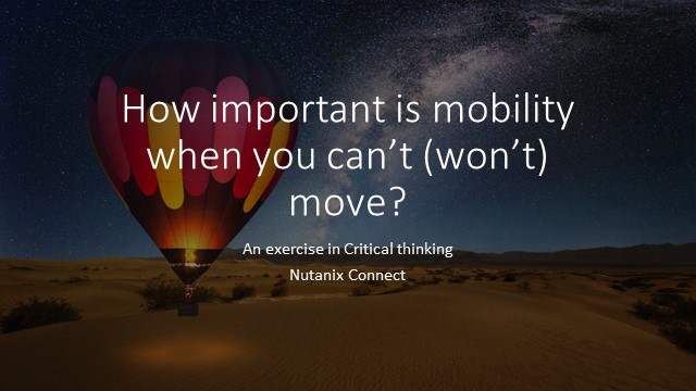 How important is mobility if I can't move?