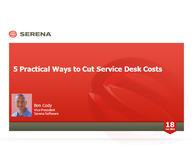 5 Practical Ways to Cut Service Desk Costs