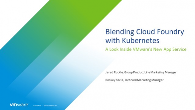 Blending Cloud Foundry with Kubernetes: A Look Inside VMware's New App Service