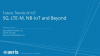 Future Trends of IoT: 5G, LTE-M, NB-IoT and Beyond